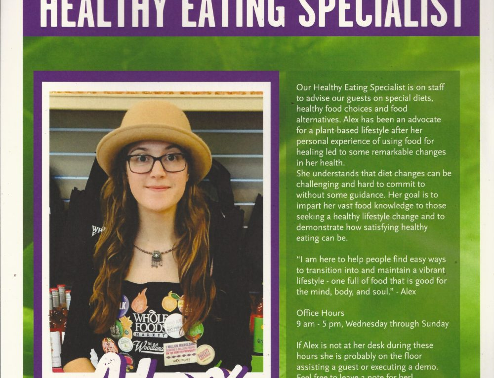 WFM: Healthy Living & Marketing Experience