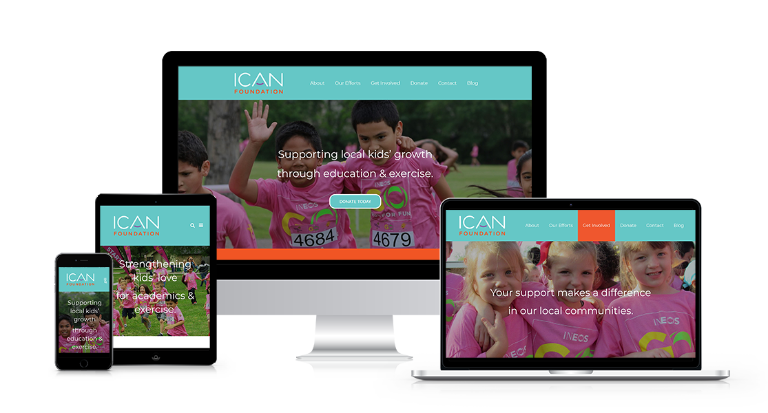 INEOS ICAN Foundation Website Redesign